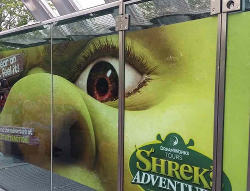 Printed Graphics & Branding for Shrek's Adventure London