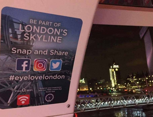 #eyelovelondon event for The London Eye